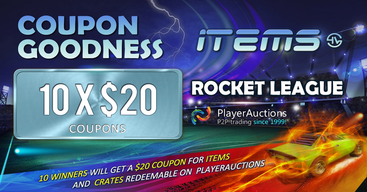 Rocket league giveaway