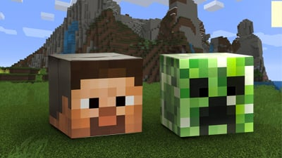 Steve and Creeper