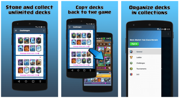 Deck Wallet for Clash Royale 2
