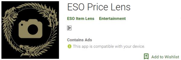 ESO Price Lens 1
