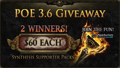 PoE 3.6 Giveaway