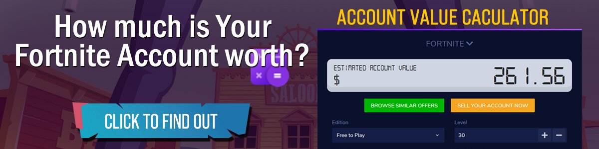 Fortnite Account Value Calculator